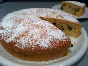 French-style yogurt cake
